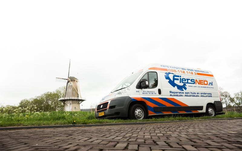 Pech onderweg? Wij helpen uw fiets weer op gang in het Land van Heusden en Altena en de Bommelerwaard